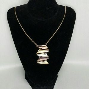 Jewelry - Tri-Color Gold Necklace